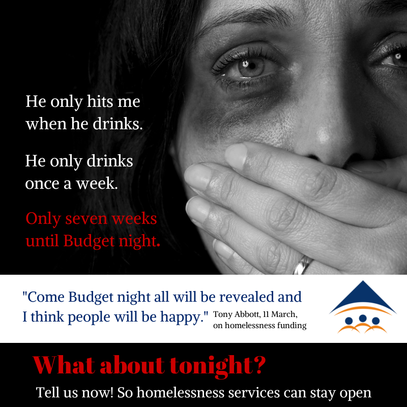 Domestic Violence Content: Abbott Puts A Price On Domestic Violence And Homelessness