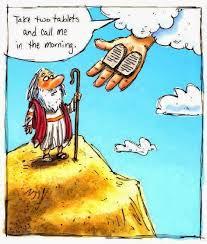 Gods ten commandments