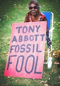 Tony Abbott Fossil Fool