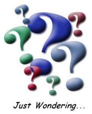 just-wondering