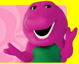 Is it just me or is Barney kinda creepy?