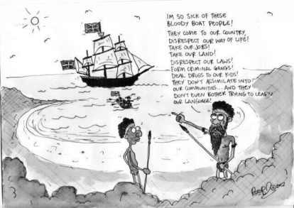 cartoon-on-boat-people