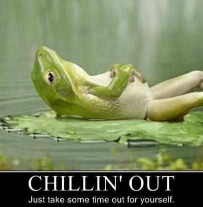 nap like a frog