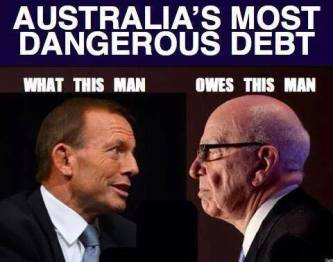 Image courtesy of Tony Abbott - Worst PM in Australian History