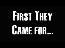 first they came for