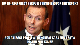 fuel subsidy for Gina