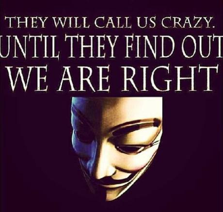 they will call us crazy