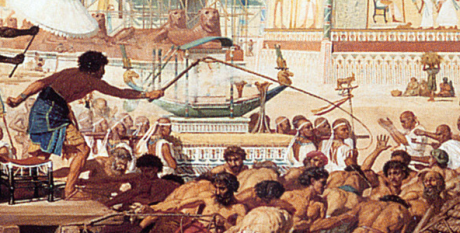 Israel_In_Egypt_by_Edward_Poynter